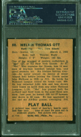 Mel Ott Signed 1940 Play Ball #88 (PSA Encapsulated) at PristineAuction.com