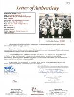 Mel Ott, Carl Hubbell & Jimmy Ripple Signed Giants 8x10 Photo (JSA LOA) at PristineAuction.com