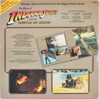 "Harrison Ford Signed ""Indiana Jones"" Vinyl Album Cover (Beckett LOA) at PristineAuction.com"