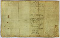 James Monroe Signed 1820 Land Grant Document (Beckett LOA) at PristineAuction.com