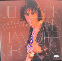 Jeff Beck Signed Vinyl Album Cover (PSA COA) at PristineAuction.com