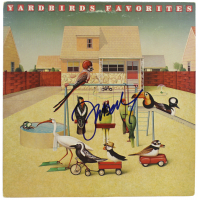 "Jeff Beck Signed ""The Yardbirds"" Vinyl Album Cover (JSA COA) at PristineAuction.com"