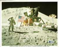 "James Irwin Signed NASA 8x10 Photo Inscribed ""My Thanks And Best Wishes"" (Beckett COA) at PristineAuction.com"