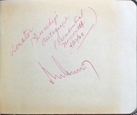 John F. Kennedy Signed 4x5 Page (JSA LOA) at PristineAuction.com