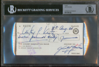 Judy Garland Signed 1964 Personal Bank Check (BAS Encapsulated) at PristineAuction.com