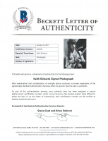 """Keith Richards Signed """"The Rolling Stones"""" 16x20 Photo (Beckett LOA) at PristineAuction.com"""