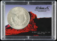 1921 Morgan Silver Dollar With Display Case at PristineAuction.com