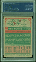 Phil Jackson Signed 1973-74 Topps #71 (PSA Encapsulated) at PristineAuction.com