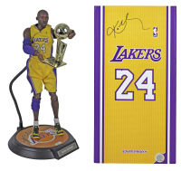 Kobe Bryant Signed Lakers Enterbay Action Figure (Panini COA) (See Description) at PristineAuction.com