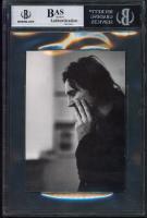 """Liam Neeson Signed """"The Judas Kiss"""" 4x6 Photo Inscribed """"Regards"""" (BGS Encapsulated) at PristineAuction.com"""