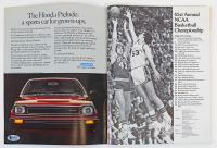 "Magic Johnson & Larry Bird Signed 1979 NCAA Tournament Program inscribed ""Tournament MOP"" (Beckett COA) at PristineAuction.com"