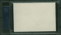 Menachem Begin Signed 3.5x5 Photo (PSA Encapsulated) at PristineAuction.com