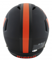 Ray Lewis & Ed Reed Signed Miami Hurricanes Full-Size Authentic On-Field Eclipse Alternate Speed Helmet (Beckett COA) at PristineAuction.com