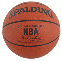 Michael Jordan, Magic Johnson & Larry Bird Signed NBA Game Ball Basketball (Beckett LOA & PSA COA) at PristineAuction.com