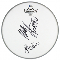Mickey Fleetwood & John McVie Signed Drum Head (Beckett COA) at PristineAuction.com