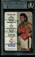 Muhammad Ali Signed 1994 Trading Card (BGS Encapsulated) at PristineAuction.com
