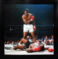 Muhammad Ali Signed 30x40 Canvas (PSA LOA) at PristineAuction.com