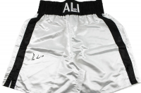 Muhammad Ali Signed Boxing Trunks (PSA COA) at PristineAuction.com