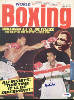 Muhammad Ali Signed 1974 World Boxing Magazine (PSA LOA) at PristineAuction.com