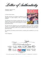 Muhammad Ali Signed 1974 World Boxing Magazine (PSA LOA) at PristineAuction.com