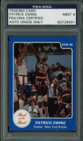 Patrick Ewing Signed 1986 Star Best of the Best #7 (PSA Encapsulated) at PristineAuction.com