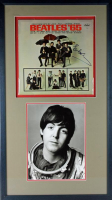 "Paul McCartney Signed 19x33.5 The Beatles ""Beatles '86"" Custom Framed Vinyl Record Album Display (PSA LOA) at PristineAuction.com"