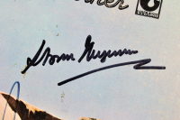 """Roger Waters, Nick Mason & Storm Thorgerson Signed Pink Floyd """"Atom Heart Mother"""" Vinyl Record Album Cover (Beckett LOA) at PristineAuction.com"""