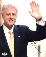 Bill Clinton Signed 8x10 Photo (PSA LOA) at PristineAuction.com