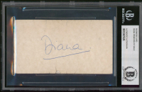 Princess Diana Signed Business Card (BGS Encapsulated) at PristineAuction.com