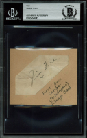 Jimmie Foxx Signed 1.35x3.35 Cut (BGS Encapsulated) at PristineAuction.com