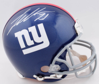 Landon Collins Signed Giants Full-Size Authentic On-Field Helmet (Fanatics Hologram & Steiner Hologram) at PristineAuction.com