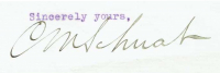 Charles M. Schwab Signed 1917 Letter (PSA COA) at PristineAuction.com
