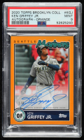 Ken Griffey Jr. 2020 Topps Brooklyn Collection Autograph Orange (PSA 9) at PristineAuction.com