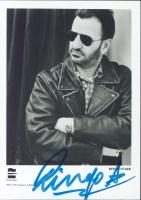 Ringo Starr Signed 4x6 Photo (Beckett LOA) at PristineAuction.com