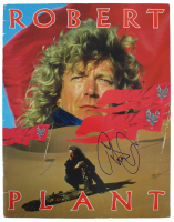 Robert Plant Signed 1988 Tour Program (Beckett LOA) at PristineAuction.com