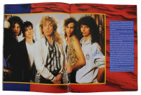 Robert Plant Signed 1988 Tour Program (Beckett LOA) at PristineAuction.com
