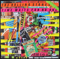 "Mick Taylor & Ron Wood Signed ""Time Waits For No One"" Vinyl Record Album (PSA COA) at PristineAuction.com"