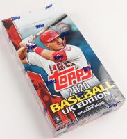 Topps 2020 Baseball UK Edition Card Box at PristineAuction.com