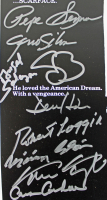 """Scarface"" 11x17 Movie Poster Cast-Signed by (11) with Al Pacino, Steven Bauer, Miriam Colon, Robert Loggia, Caesar Cordova (PSA LOA) at PristineAuction.com"