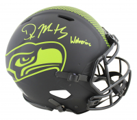 "DK Metcalf Signed Seahawks Full-Size Authentic On-Field Eclipse Alternate Speed Helmet Inscribed ""Wolverine"" (Beckett COA) at PristineAuction.com"