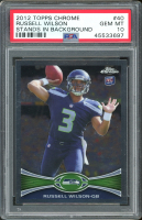 Russell Wilson 2012 Topps Chrome #40A RC (PSA 10) at PristineAuction.com