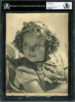 "Shirley Temple Signed 7.25x9.25 Photo Inscribed ""Love"" (BGS Encapsulated) at PristineAuction.com"