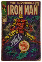 "Stan Lee Signed 1968 ""The Invincible Iron Man"" Issue #1 Marvel Comic Book (PSA COA) (See Description) at PristineAuction.com"