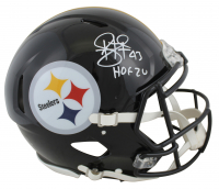 "Troy Polamalu Signed Steelers Full-Size Authentic On-Field Speed Helmet Inscribed ""HOF '20"" (Beckett COA) at PristineAuction.com"