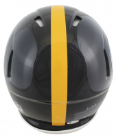 """Troy Polamalu Signed Steelers Full-Size Authentic On-Field Speed Helmet Inscribed """"HOF '20"""" (Beckett COA) at PristineAuction.com"""