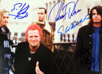 Scott Weiland, Dean DeLeo, Robert DeLeo & Eric Kretz Signed 8x10 Photo (Beckett LOA) at PristineAuction.com