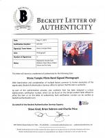 Scott Weiland, Dean DeLeo, Robert DeLeo & Eric Kretz Signed 8x10 Photo (Beckett LOA) at PristineAuction.com