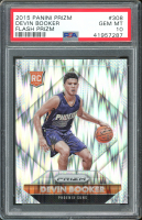 Devin Booker 2015-16 Panini Prizm Prizms Flash #308 RC (PSA 10) at PristineAuction.com