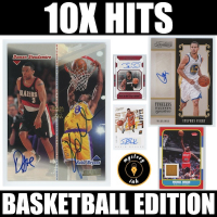 Mystery Ink 10X Hits Basketball Edition Mystery Box - 10 Autos / Jerseys / Relics Cards in Every Pack! at PristineAuction.com