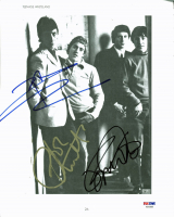 "Pete Townshend, Roger Daltrey & John Entwistle Signed ""The Who"" 10x12 Magazine Photo (PSA LOA) at PristineAuction.com"